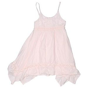 Girl's TAHARI Pink Embroidered Dress 24M